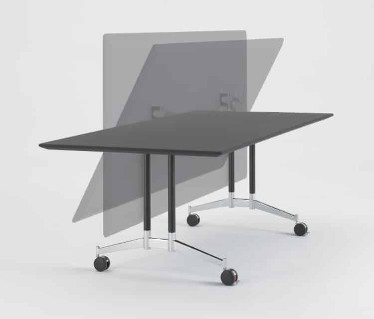 Contact klaptafel - snel te plaatsen of te ontruimen zonder veel inspanning!