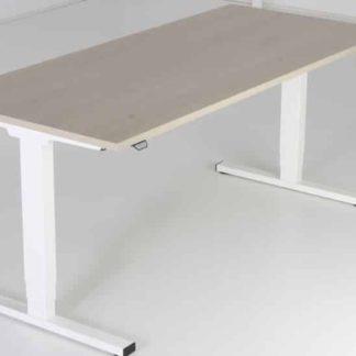 Huislijn Project zit-sta bureau met I poot bureau, hoogte verstelling is elektrisch
