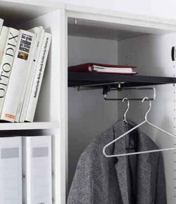 Garderobe kast, draaideurkast