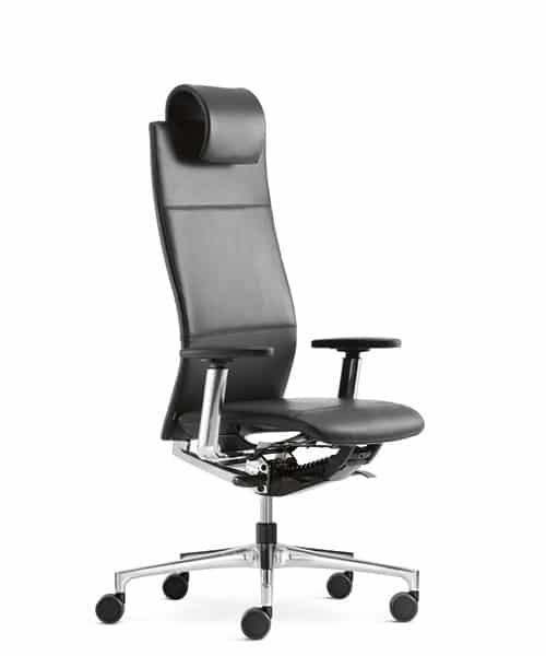 Bureaustoel Met Neksteun.Hoogte Verstelbaar 5cm Bekleding Hoofdsteun Wordt Aangepast Aan