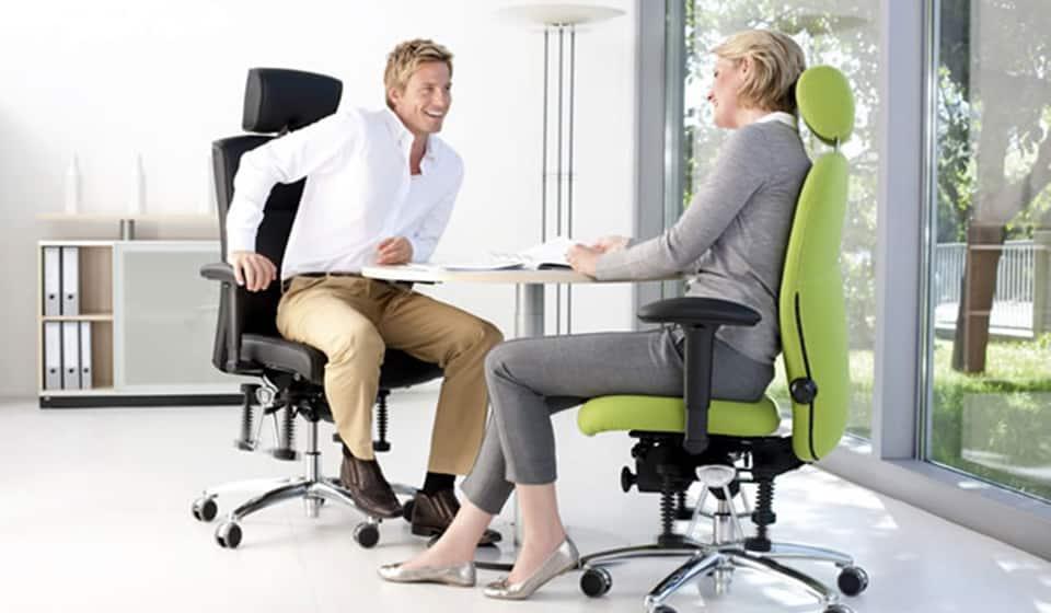Bioswing bureaustoelen