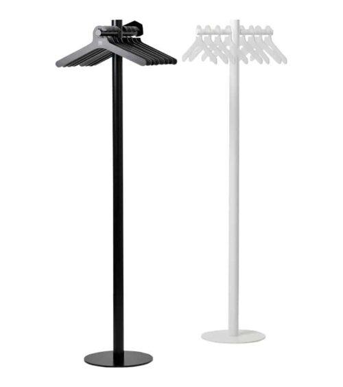 Cascando Pole kapstokken zwart en wit