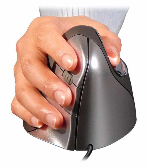Evoluent 4 verticale muis voor neutrale positie onderarm