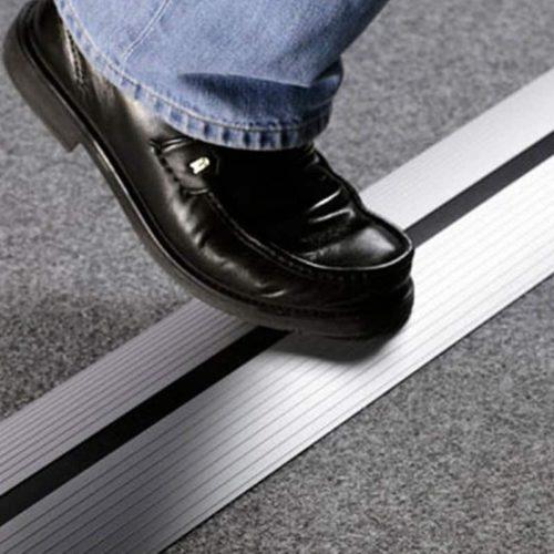 vloergoot ter preventie van kabels