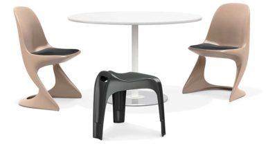 Casalino kunststof stoelen voor binnen en buiten