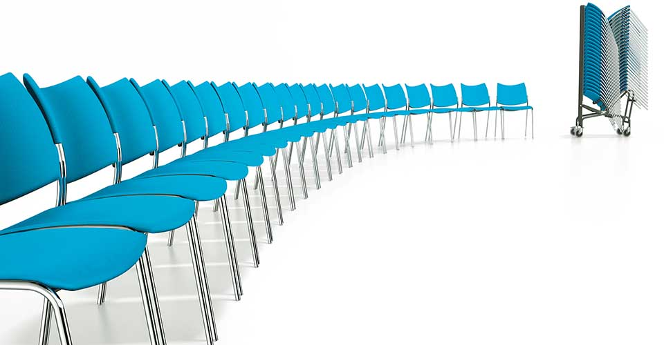 koppelbare stoel Casala Cobra