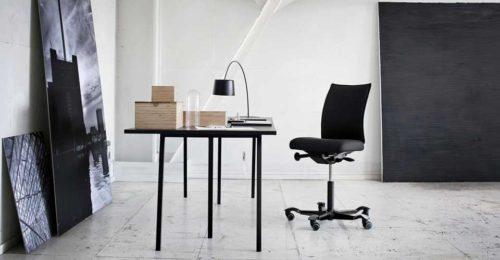 gebruiksvriendelijke bureaustoel HAG H05