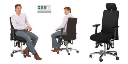 Bureaustoel Bioswing 360 IQ met hoge rugleuning