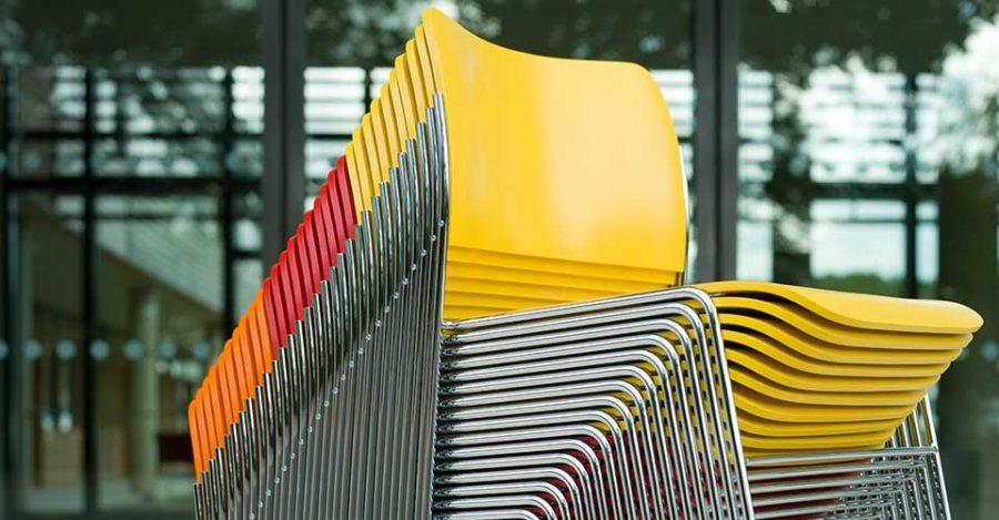 stapelbare stoelen Howe 40/4