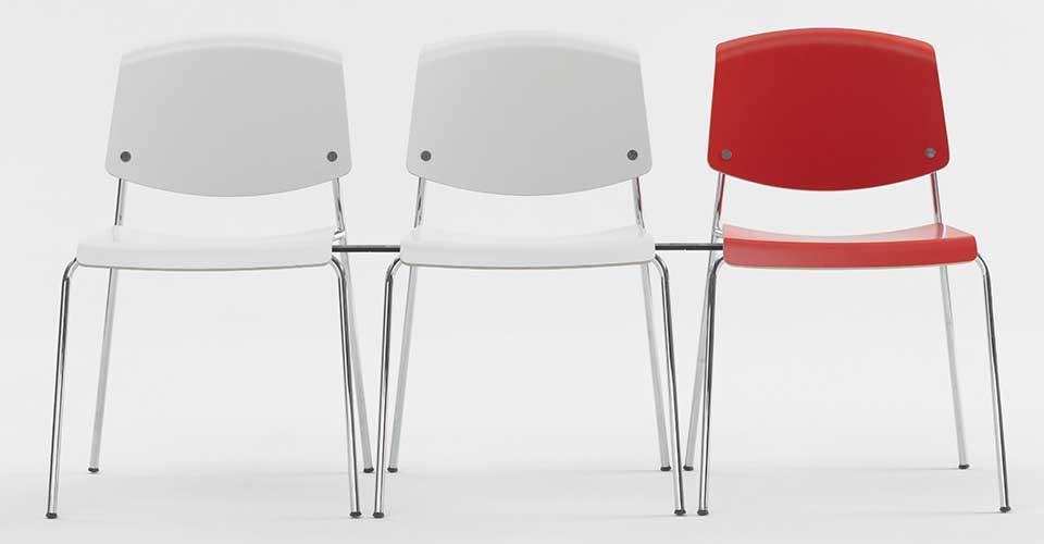Pause kantinestoelen Deens Design