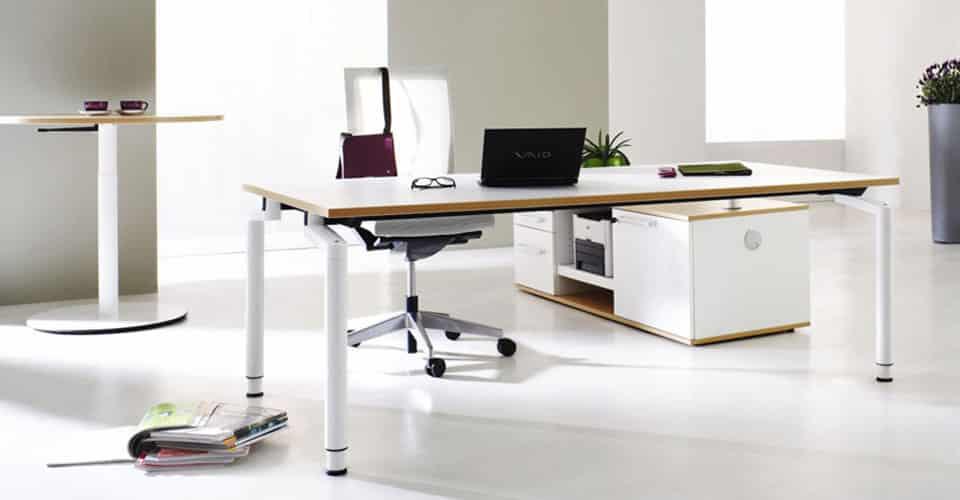 Serie M hoogte instelbare kantoormeubelen