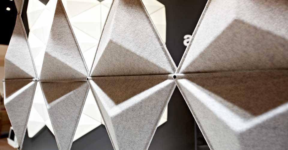 Geluidsabsorberende panelen Aircone