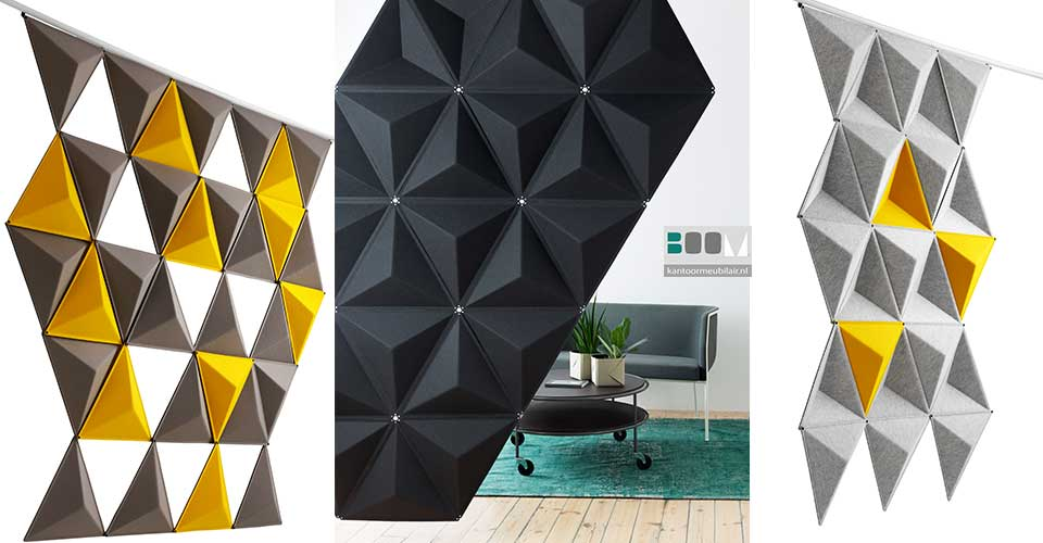 geluidsabsorberende panelen Abstracta Aircone