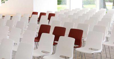 Koppelbare zaalstoelen RBM Ana