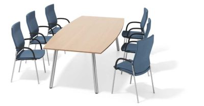conferentietafel Casala Wishbone
