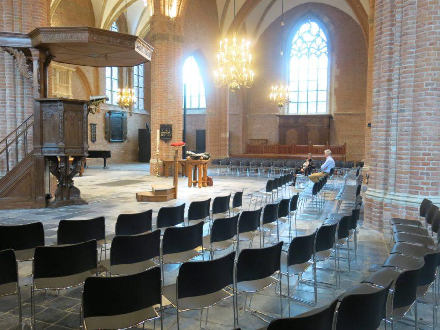 Howe 40/4 stoelen voor kerk