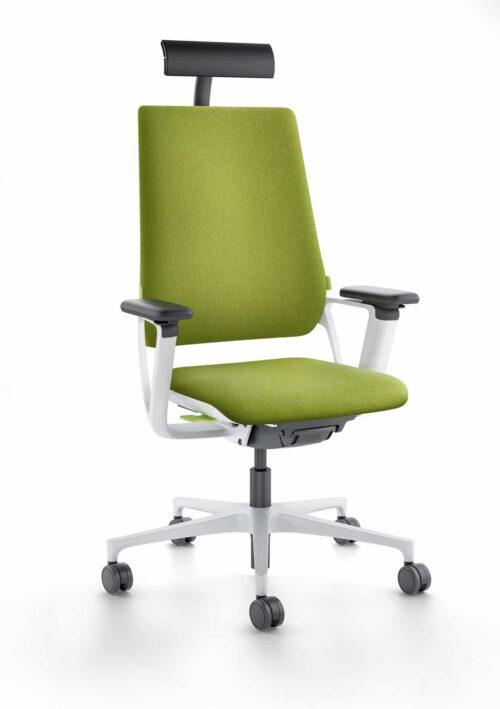 Klober Connex2 automatische bureaustoel met hoofdsteun