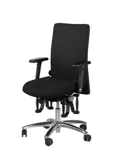Haider Bioswing 3 Serie bureaustoel en vergaderstoel voorkomt en bestrijdt rugpijn.