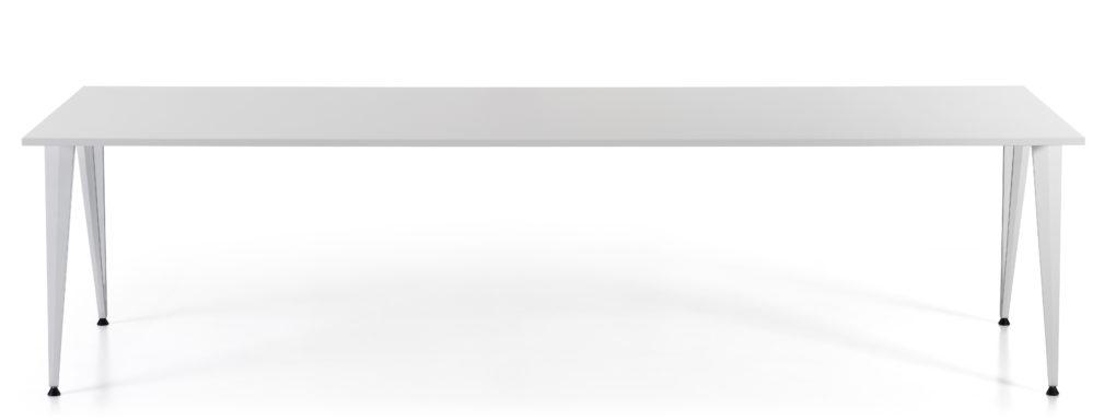Lammhults Attach vergadertafel in het wit.