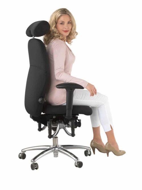 Bioswing bureaustoel 460 aanbieding