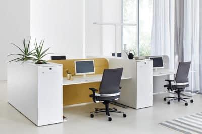 ophelis Orga cube kantoormeubilair met apothekerskast