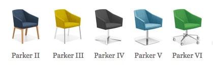 Casala Parker stoelen