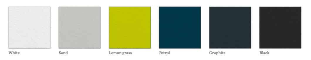 Casala Axa kunststof kleuren