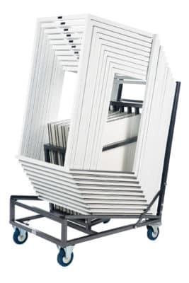 Kubo Smart stapelbare statafels op trolley