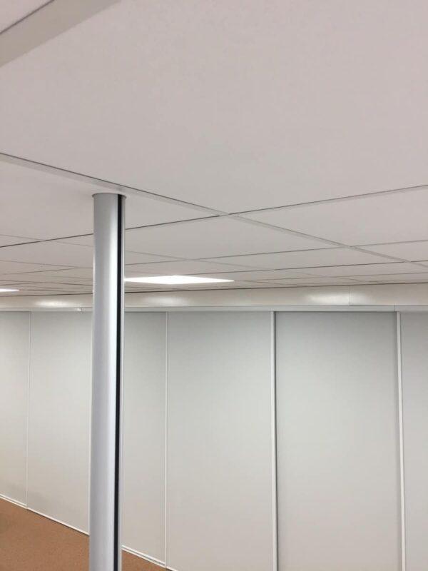 Aluminium kabelbuis / kabelzuil