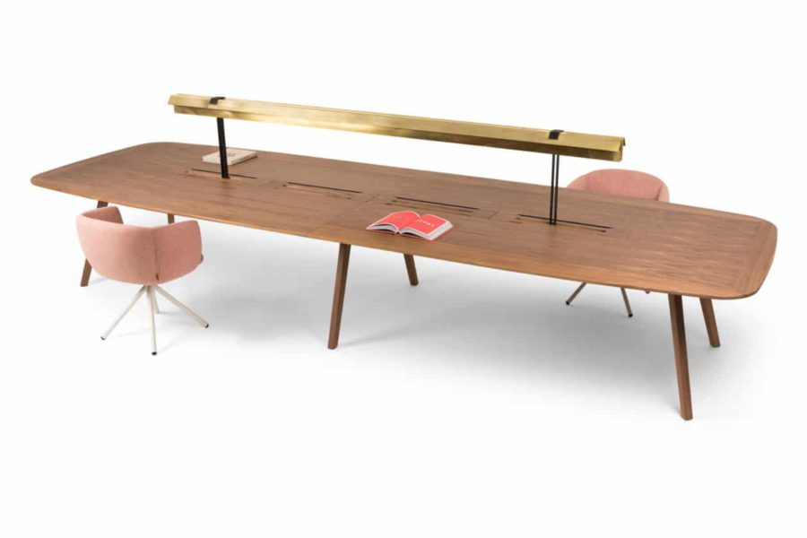 True Design-Wing werktafel en conferentietafel
