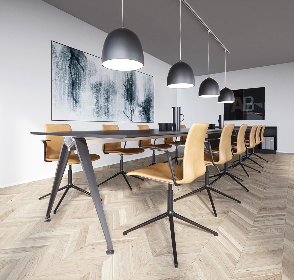 Grip Meeting tafels van Randers + Radius