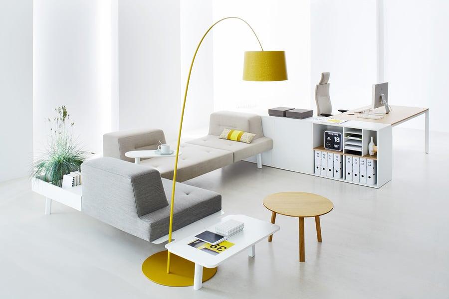 ophelis docks modulaire soft seating configuratie zonder akoestische wanden