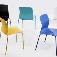 De Akaba Kabi kleurencollectie stoelen