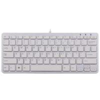 Ergo compact toetsenbord wit