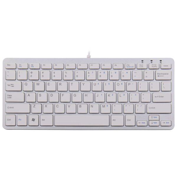Bedraad ergonomisch toetsenbord grijs R-Go