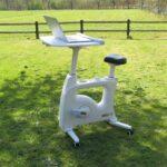 Bureaufiets of hometrainer Tournette Deluxe voor ergonomisch thuiswerken.