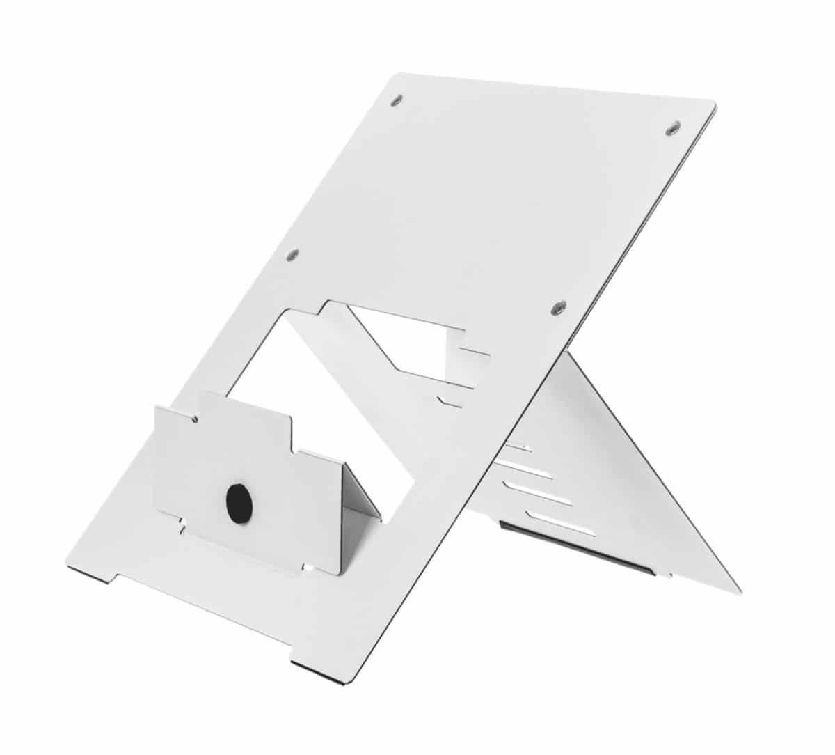 R-GO Riser laptopstandaard wit