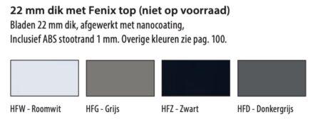 Huislijn Fenix kleuren