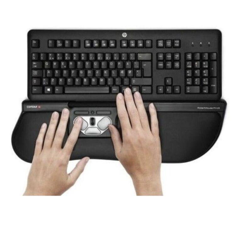 RollerMouse PRO3 Plus met toetsenbord