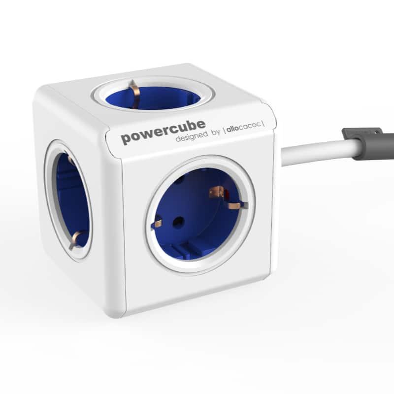 Powercube blauw